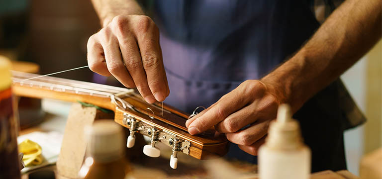 Repair Your Musical Instrument